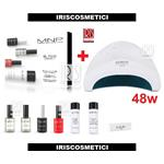 MESAUDA STARTER KIT GEL POLISH SEMIPERMANENTE 7 PZ + LAMPADA SUNONE UV LED 48W