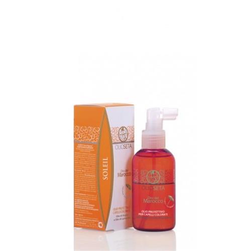 Spray protezione capelli colorati